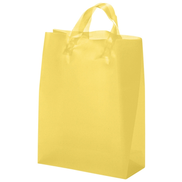 Tulip Brite Shoppers - Hi-density Color Plastic Bag With Flexographic Imprint Photo