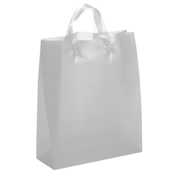 Iris Brite Shoppers - Hi-density Color Plastic Bag With Matching Fused Loop Handles Photo