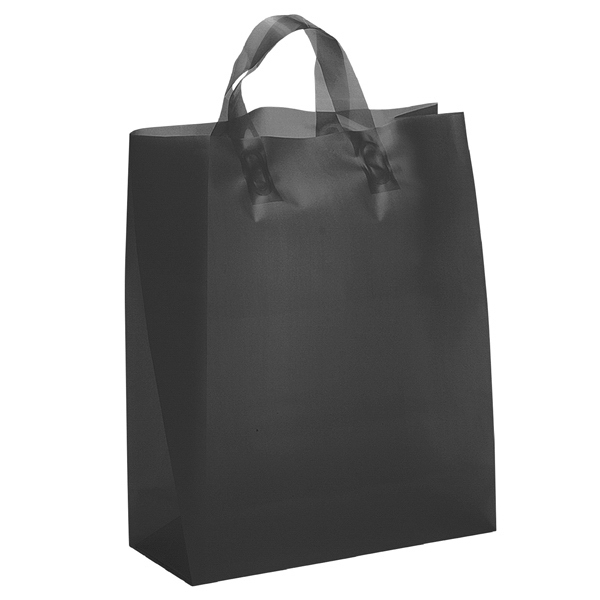 Hercules Brite Shoppers - Hi-density Frosted Color Plastic Bag With Matching Fused Loop Handles Photo
