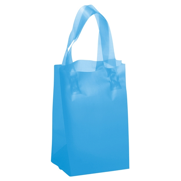 Thor Brite Shoppers - Hi-density Frosted Brite Color Plastic Shopping Bag With Matching Loop Handles Photo