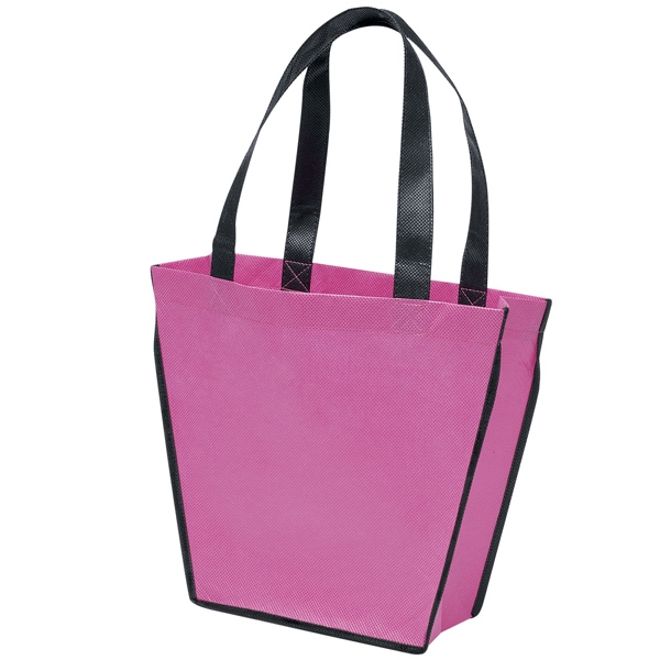 "Carnival (tm) - Tote Bag Made Of Polypropylene Material With 18"" Handles And Black Accent Piping Photo"