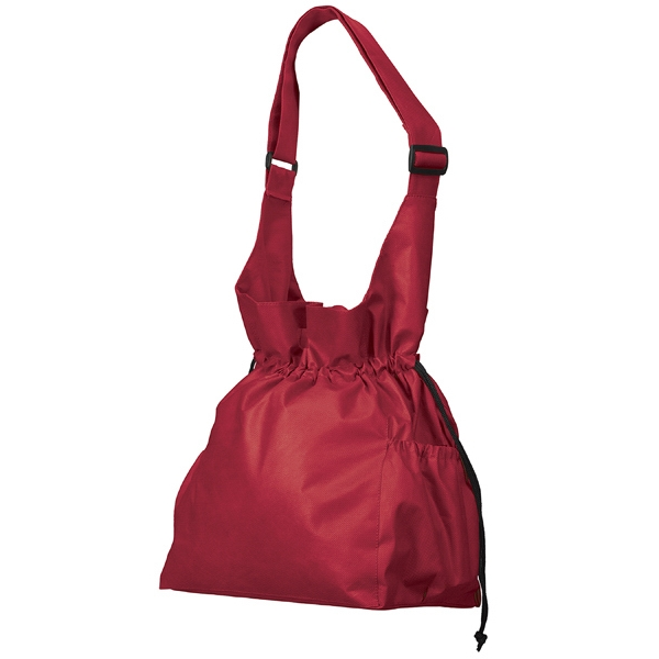Cinch Tote - Tote With Die Cut Carrying Handles And Adjustable Shoulder Strap And More Photo