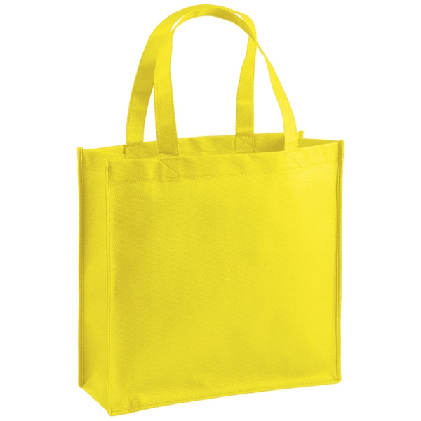 "Celebration (tm) Abe (tm) - Tote Bag Made From Non-woven Polypropylene With Stitched Seams. 13"" X 13"" Photo"