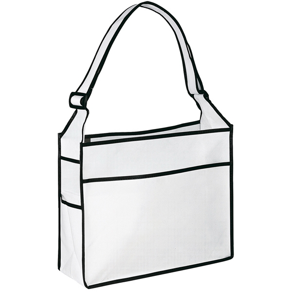Elite Ultimate Series - Non-woven Polypropylene Tote Bag With Strap, Pockets, Pouch And More Photo