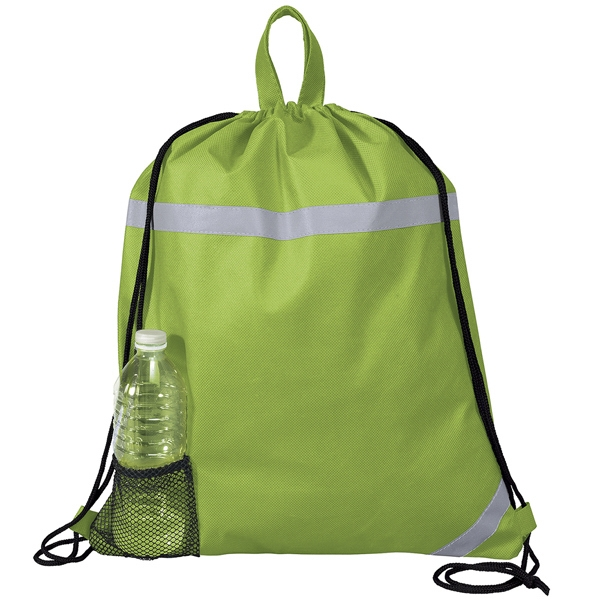 Therm-o-backpack(tm) - Insulated Interior Compartment Backpack With Velcro (r) Closure & Carrying Handles Photo