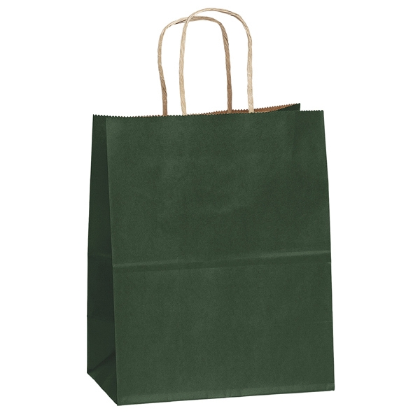 Munchkin Shopper - Matte Paper Shopping Bag With Serrated Cut Top And Twisted Kraft Paper Handles Photo