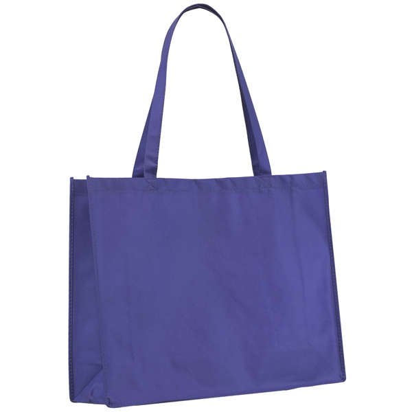 "Celebration (tm) George - Non Woven Multi-color Polypropylene Bright Tote Bag With 28"" Handles Photo"