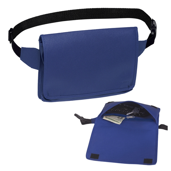 Hipster Tote Retro - Fanny-pack Style Tote With Velcro (r) Closure On Flap Photo