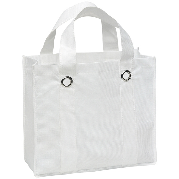 Silhouette Tote (tm) - Reusable Tote With Reinforced Handles And Metal Grommet Details Photo