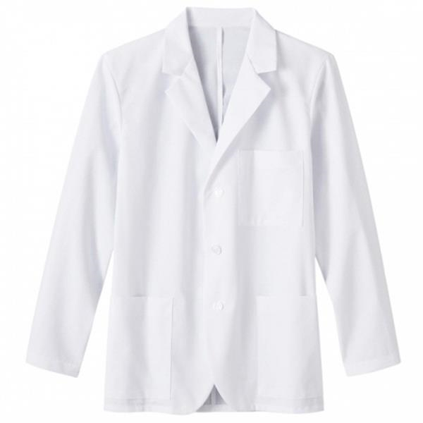 "White Swan Meta Labwear - Sa15103 Fundamentals Mens 30"" Consultation Labcoat Photo"
