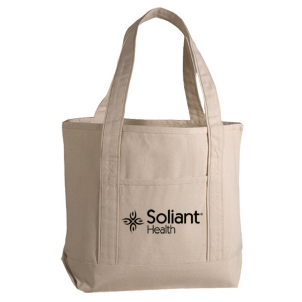 Deluxe Cotton Canvas Tote Photo