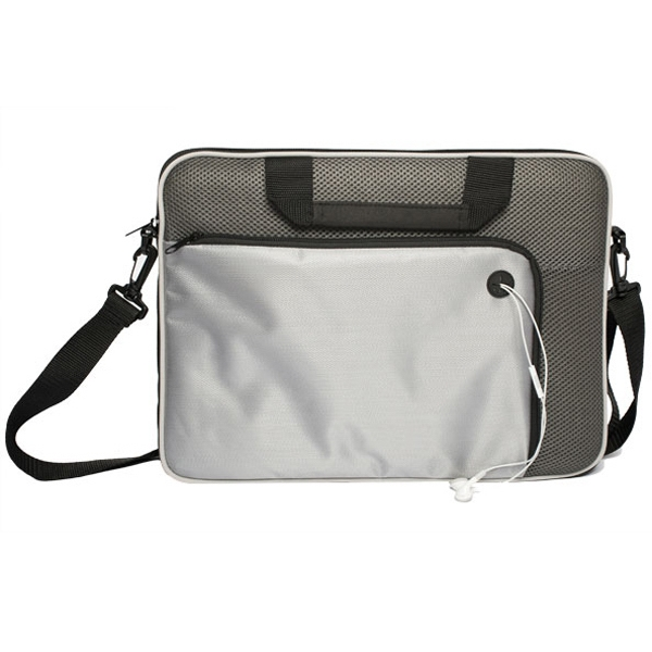 Laptop Briefcase Has Zippered Compartment With Padding Photo
