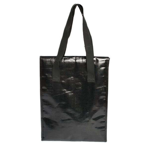 Elegant - Lunch Bag With Zippered Compartment And Foil Lining Photo