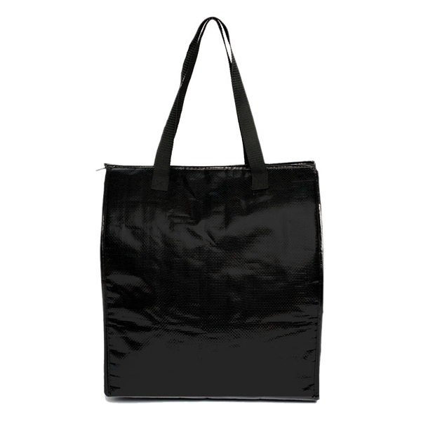 Elegant - Cooler Tote With Zippered Compartment And Foil Lining Photo