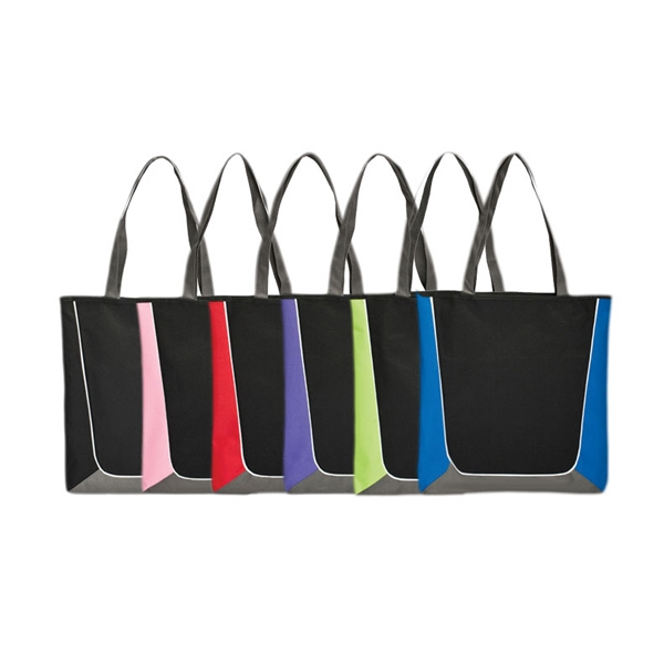 "Simple U-shape Tote With 26"" Straps Photo"