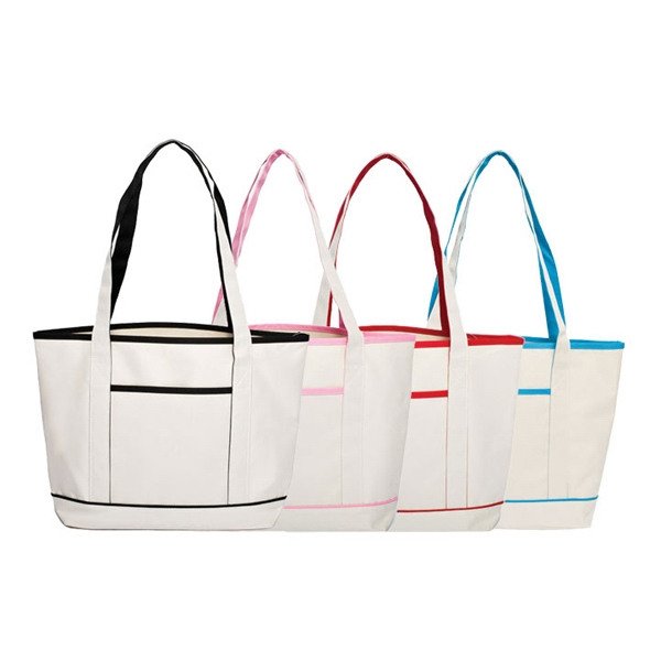 Tote With Open Compartment And Front Open Pocket Photo