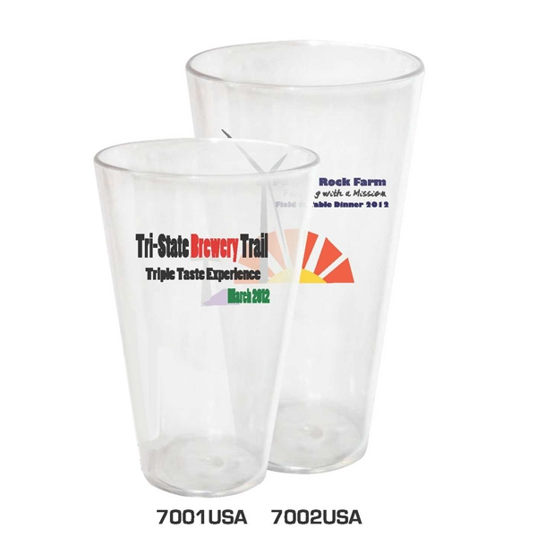 18 Oz. Tumbler Made Of Reusable Acrylic Photo