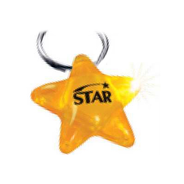 Brite Lights (tm) - Molded Key Light In A Star Shape Featuring 1 Led Bulb And Lithium Battery Photo
