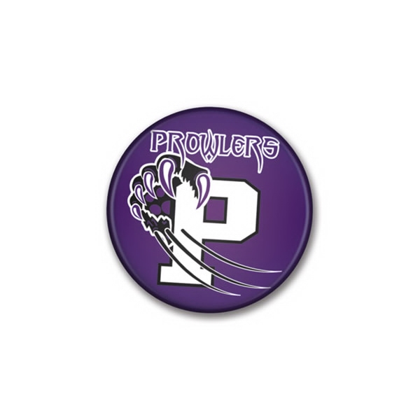 "2"" - Round Custom Buttons With Mylar Shell That Protects Imprint Photo"