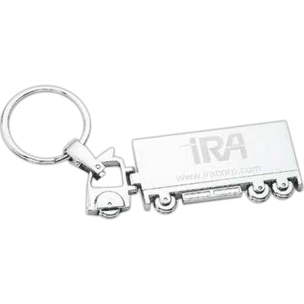 Pinemax - Chrome Plated Truck Shape Key Holder Photo