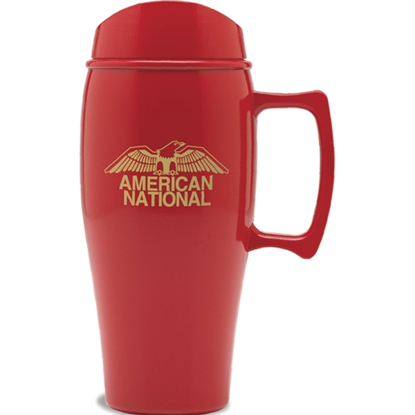 Nature Ad (tm) Eco-logic - 18 Oz Travel Mug. Made From 100% Corn Plastic Photo