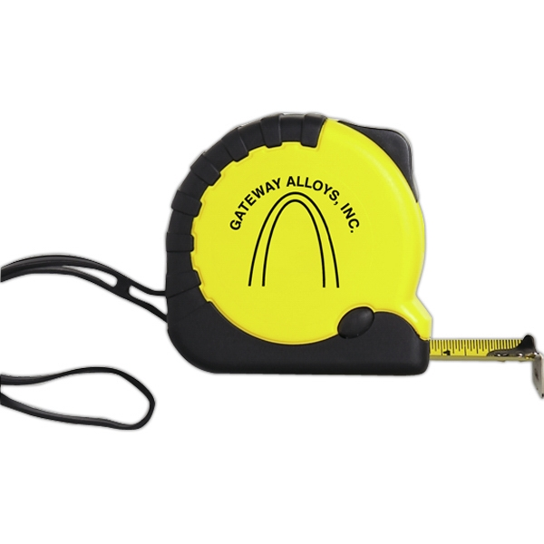 Pro - 16 Foot Tape Measure Of Rugged Construction And A Rubber Grip Photo