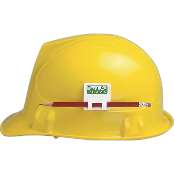 Hard Hat Clip With Adhesive Photo