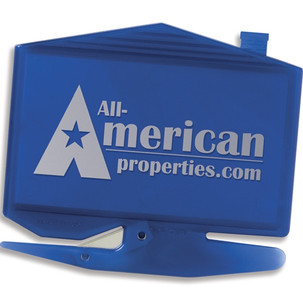 Zippy (r) - House Business Card Letter Opener With Staple Remover. Made In The Usa Photo
