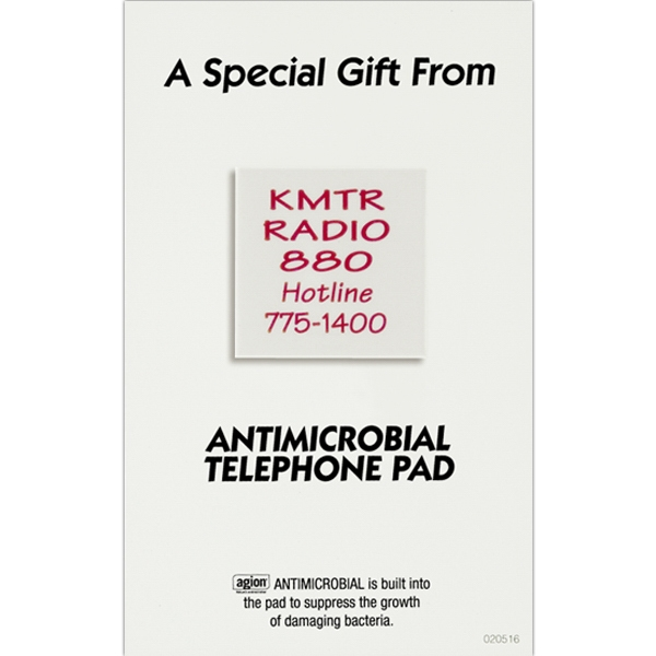 Safe Ad (tm) - Telephone Pad With Antimicrobial Protection Photo