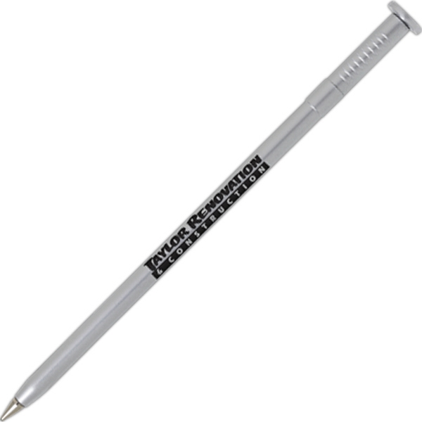 Nail - Hardware Shaped Ballpoint Pen With Black Ink Cartridge And Medium Point Photo