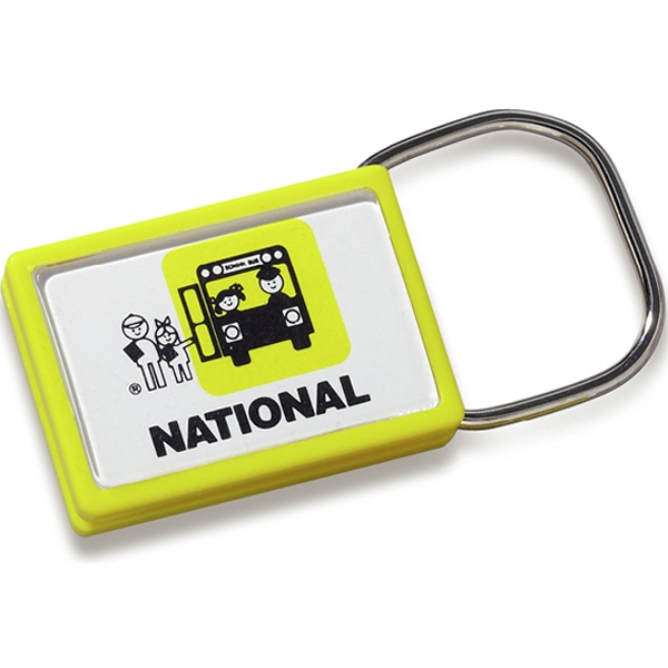 "Letter Perfect Showring - Snap Clip Key Tag. 1 1/4"" X 1 3/4"" Photo"