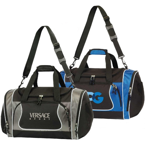 Brighton - Jumbo Sports Duffel Bag With U-shaped Main Zippered Compartment Photo