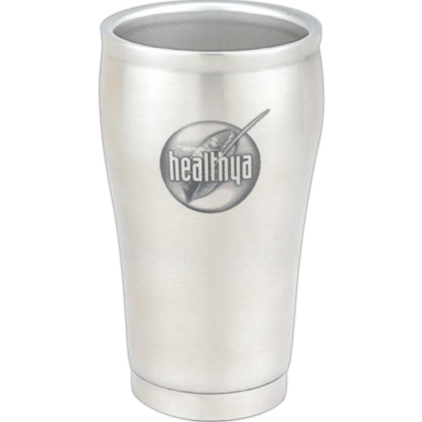 Contour - 8 Oz. Double Wall Stainless Steel Cup. Elegant Promotional Item Photo
