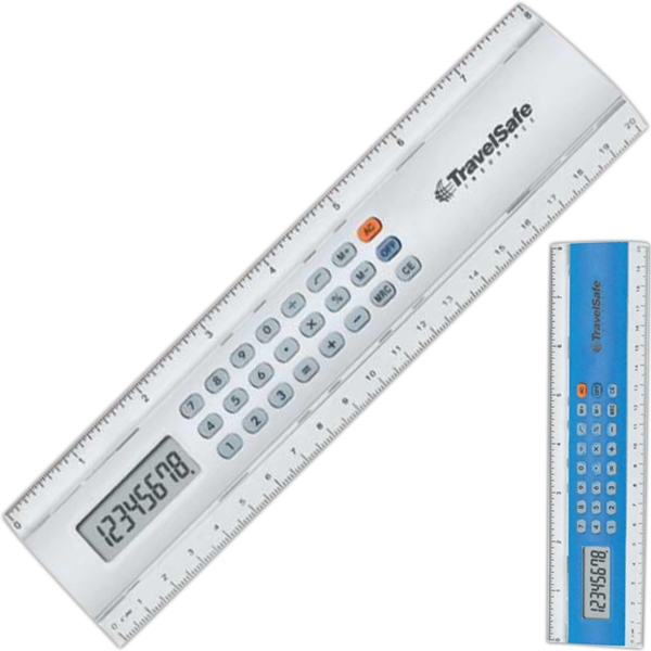 Galileo - This Easy To Use Two-in-one Ruler And Calculator Is A Practical Item Photo