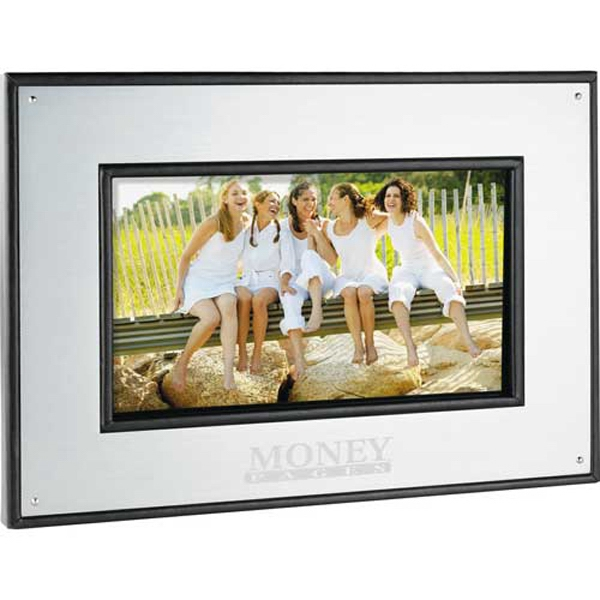 "Aluminum 7"" Digital Photo Frame, 1gb Memory Included Photo"