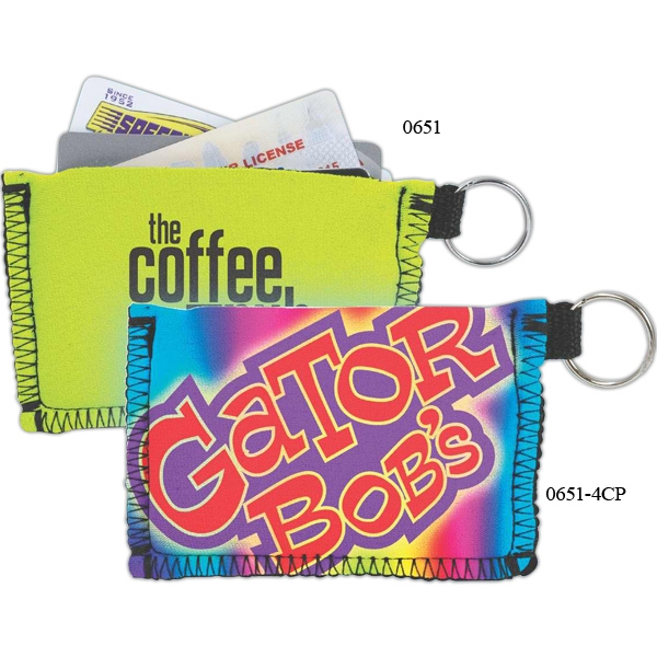 Card Guard (tm) - High Quality Neoprene Case With Keyring Photo
