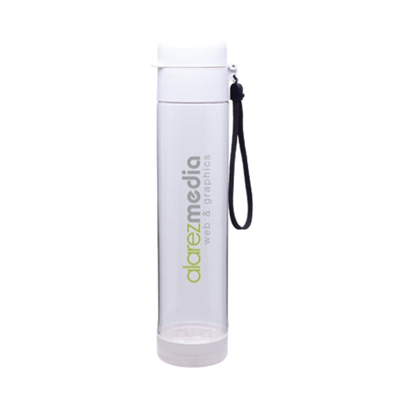 H2go Bfree (r) Hybrid (r) - White - Single Wall (bpa Free) 25 Oz Bottle With Threaded Snap Tight Lid Photo