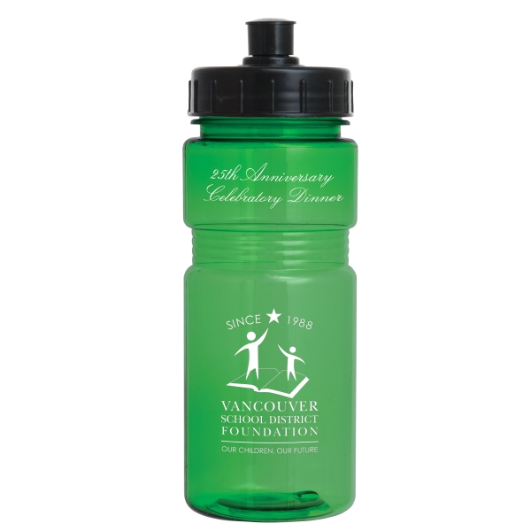 Recreation - Push Pull Lid - Sports Bottle, 20 Oz Photo