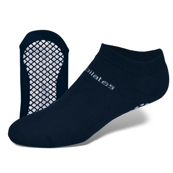 Full Cushion No Show Sock with Tread & Knit-In Logo