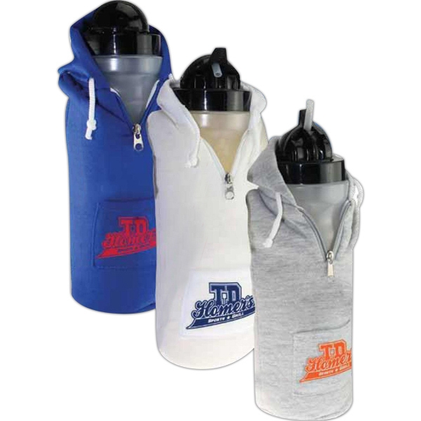 Biodegradable Sweatshirt Water Bottle Photo