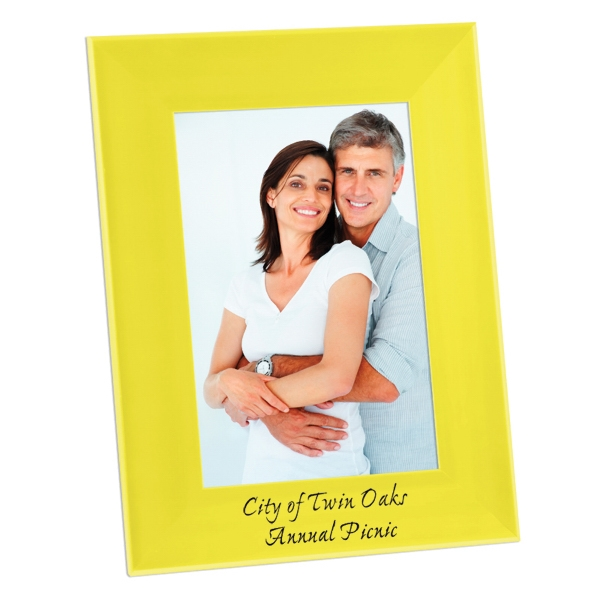 "Color Brite - Plastic 4"" X 6"" Picture Frame Photo"