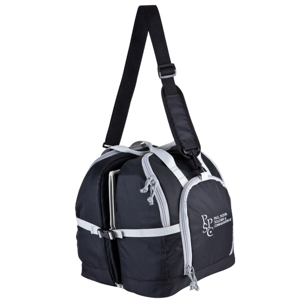 All-In-One Excel Picnic Tote - Picnic Tote made of 300 Denier rip stop poly.