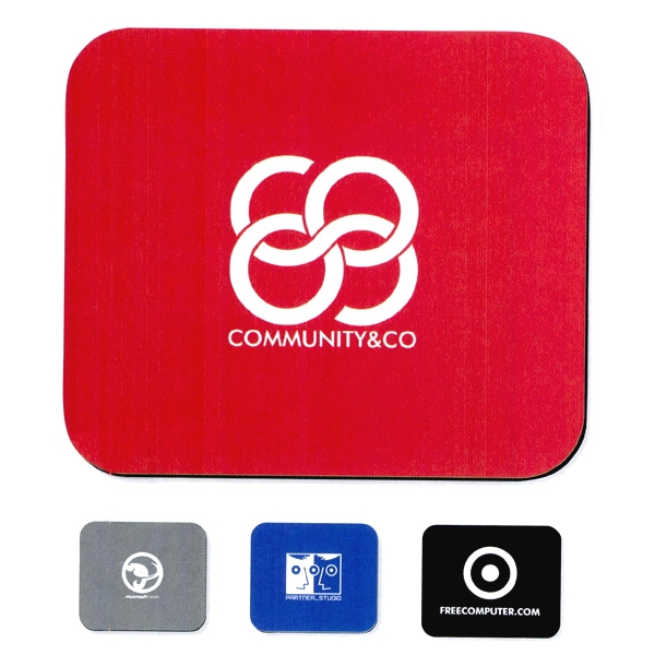 Red - Soft Surface Mouse Pad With Express Turnaround Photo