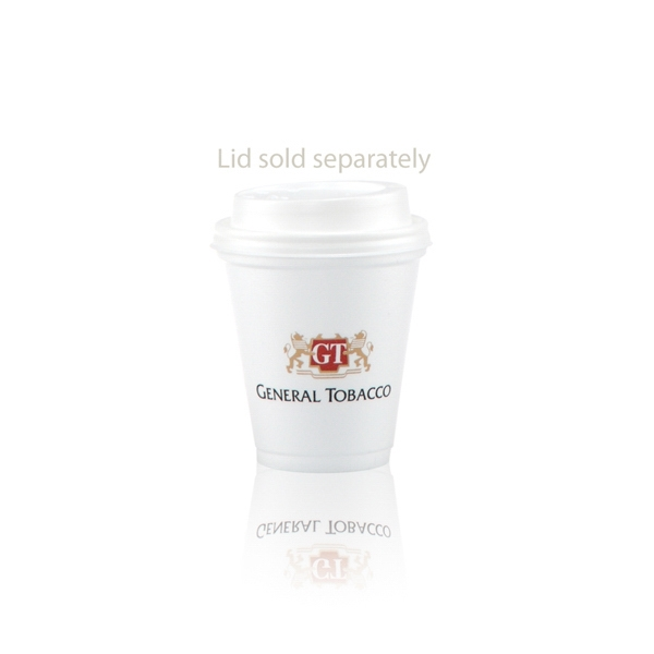 8 oz Foam Cup - 8 oz Foam Cup, great for both hot and cold beverages.