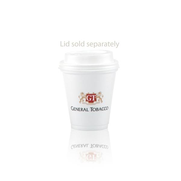 8 oz Foam Cup - White - Tradition