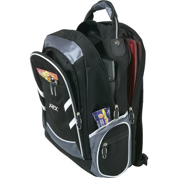 "Wired (tm) - Computer Backpack With 15"" Laptop Pocket Photo"