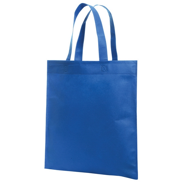 Non-woven Promotional Solid Color Tote Bag. Blank Photo