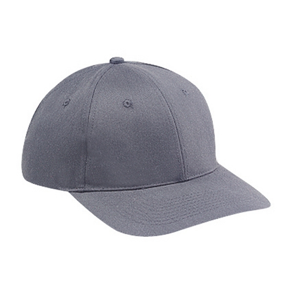 Unstructured, Solid Color, Soft Crown Pro Style Cap Features Low Profile. Blank Photo