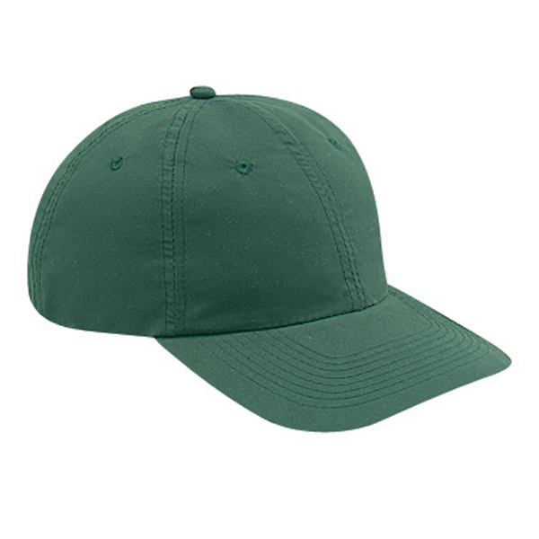 Low Fitting, Solid Color, Unstructured Six Panel Polyester Microfiber Cap. Blank Photo