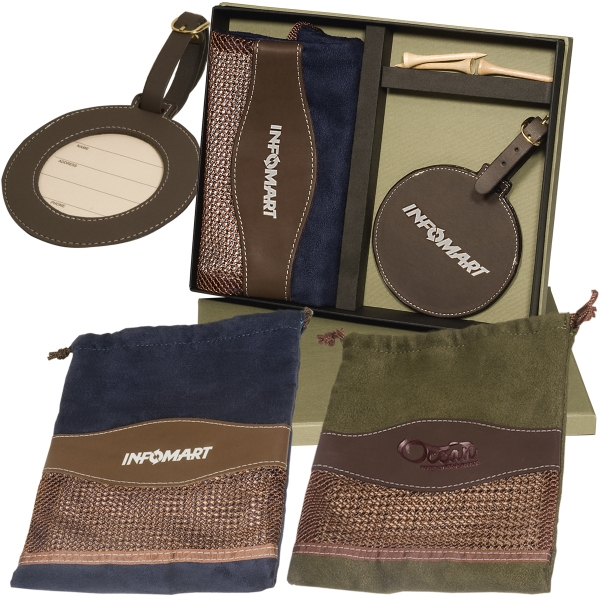 Woodbury - Golf Pouch/tag Set Photo
